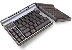 Goldtouch Go! adjustable keyboard that folds for travel